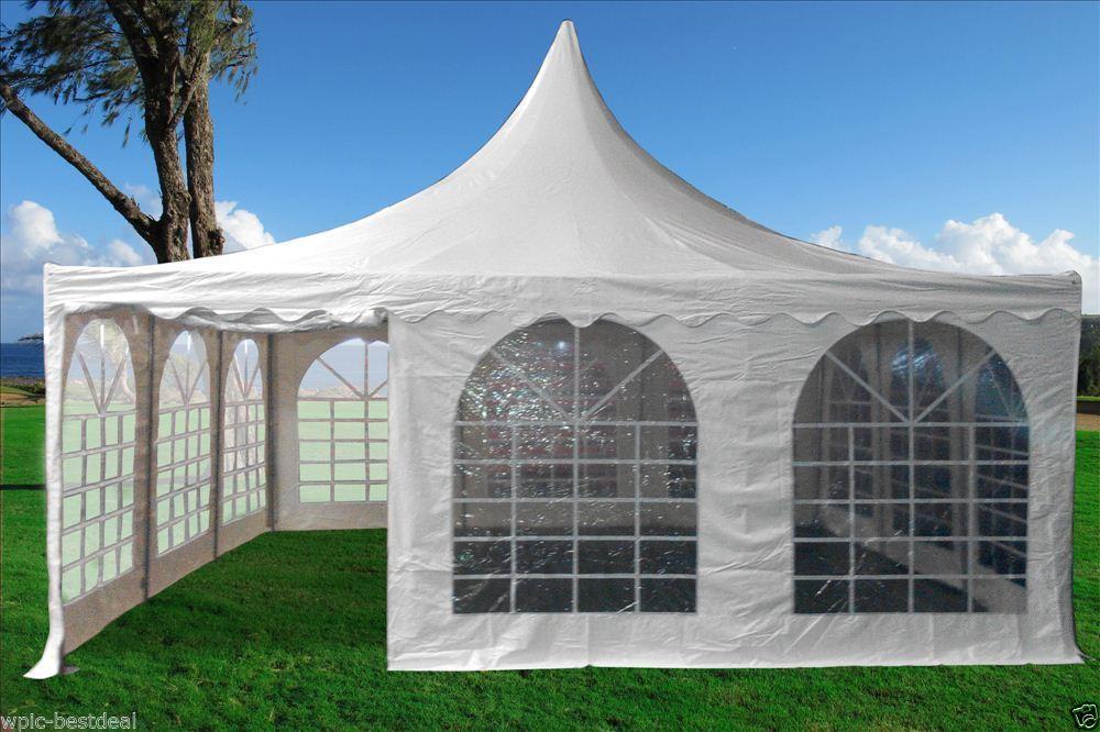 20 X 20 Pvc Pagoda Tent Canopy Gazebo