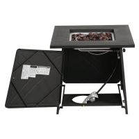 Outdoor Propane Fire Pit Table Patio Heater Gas - 28 Inch ...