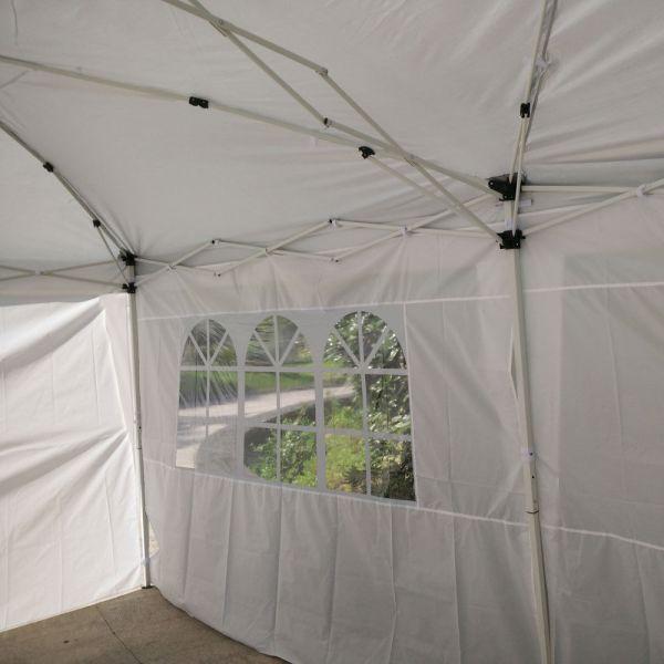 10 X 20 White Pop Tent Canopy Gazebo Shelter Unit