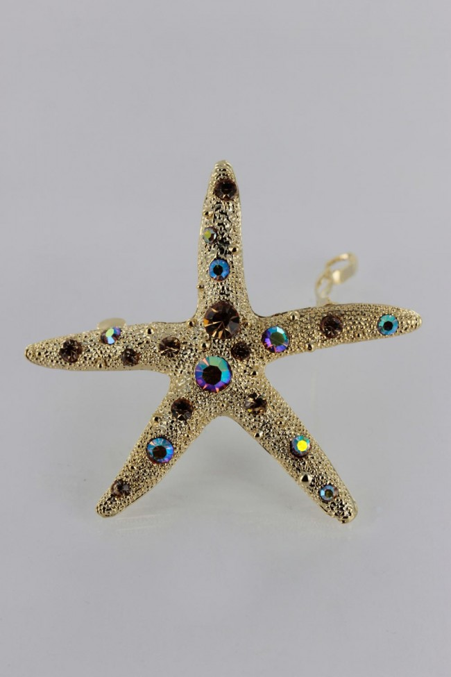 Best Small Starfish Barrette From Cheap Wholesale Direct
