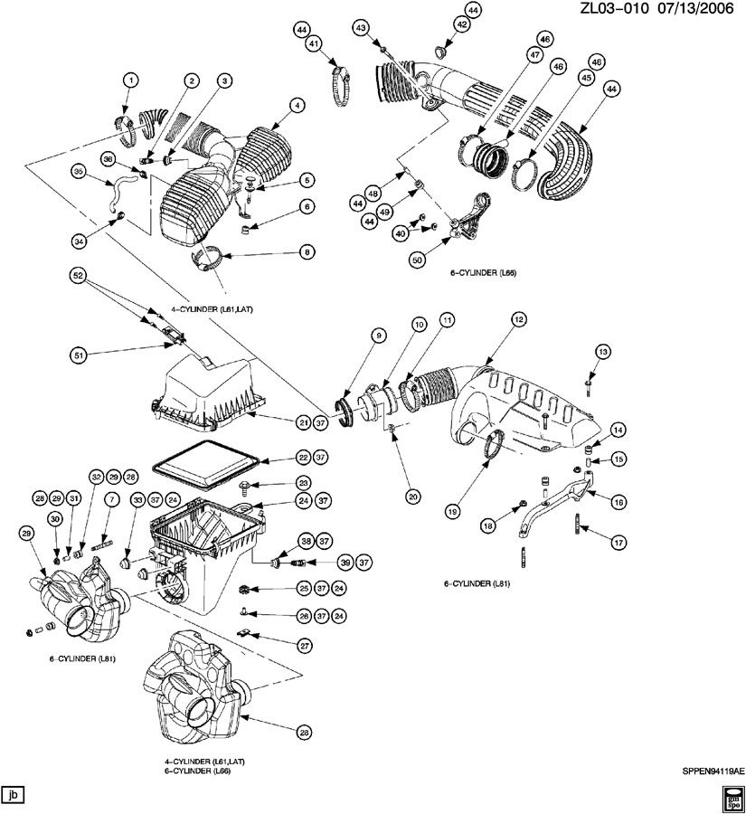 2006 Saturn Vue Parts Diagram Intake. Saturn. Auto Wiring