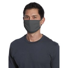 bulk cloth face masks polyester grey