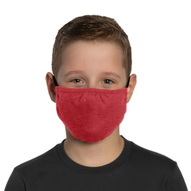 kids face mask red