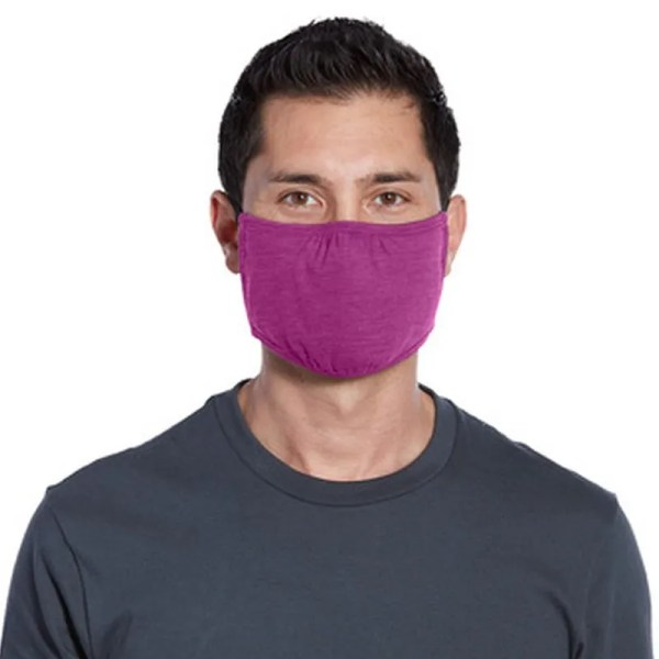 bulk wrap around face mask purple man