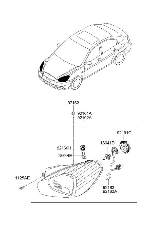 Hyundai HEADLAMP