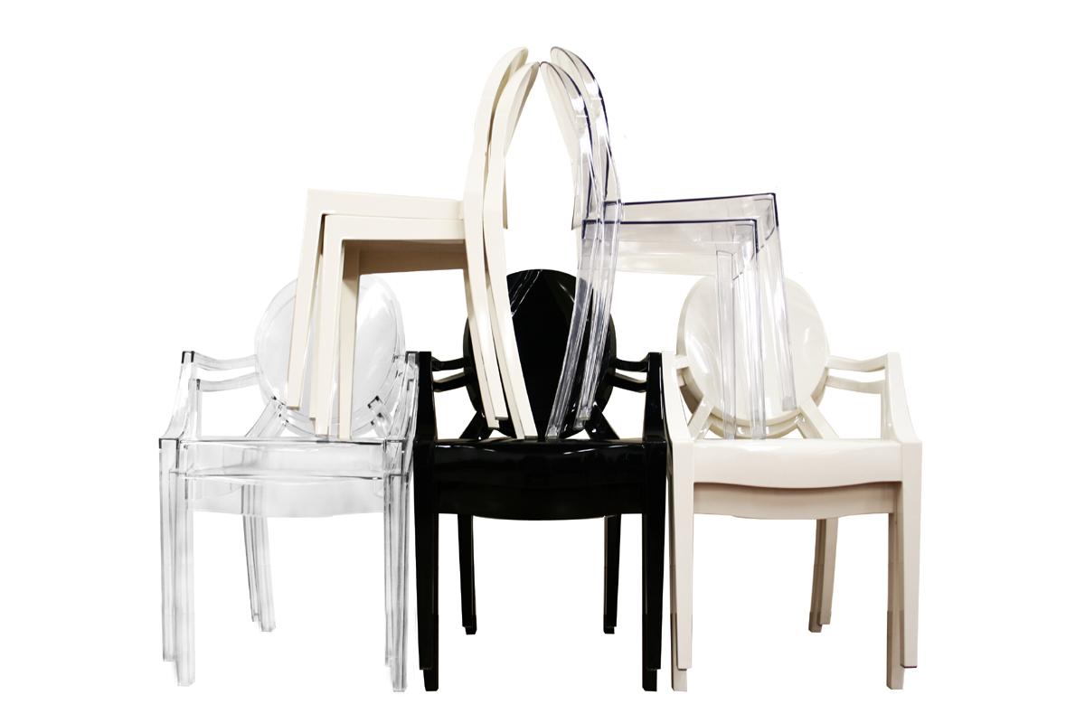 Modern Acrylic Ghost Chair Arm Chair Side Chair