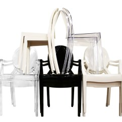 Ghost Side Chair Green Armchair Covers Modern Acrylic Arm Ebay