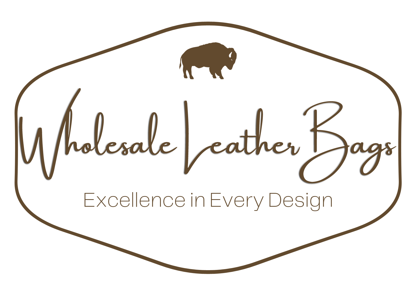 Wholesale Leather Bags Logo