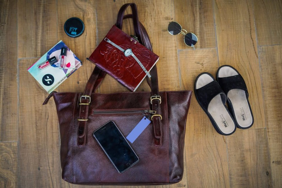 My Leather Handbag and other accessories