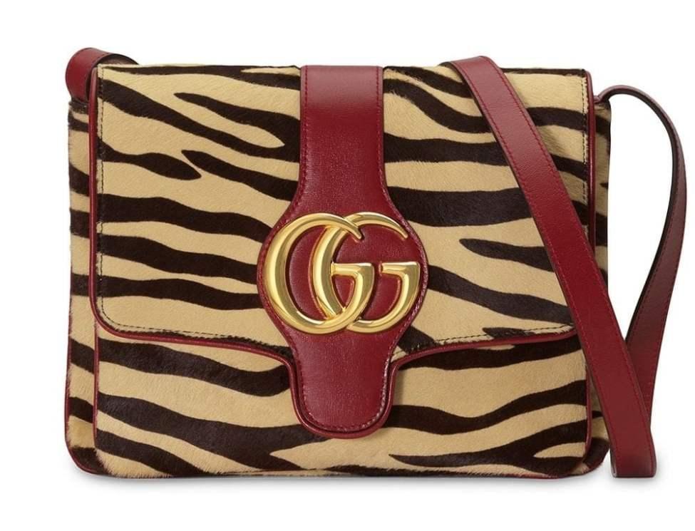 Gucci Arli tiger print shoulder bag min