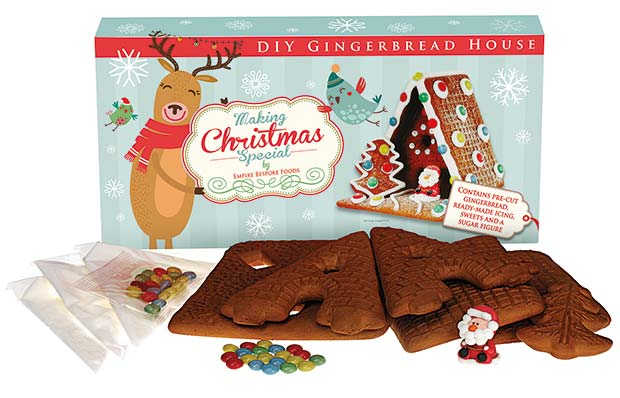 Have yourself a bespoke christmas wholesale manager the news the making christmas special range includes both decorated and diy gingerbread man and gingerbread house kits as well as a wide selection of traditional solutioingenieria Choice Image