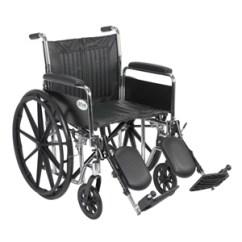 Drive Wheel Chair Used Shower Cs20dfa Chrome Sport Wheelchair Full Arms Elevating Leg Medical Elr Larger Jpg