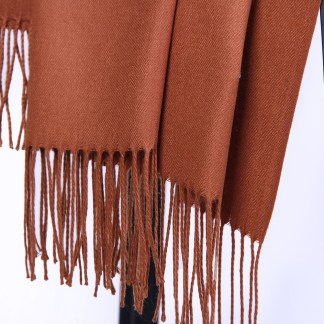 Syrup Colour Cashmere Scarf