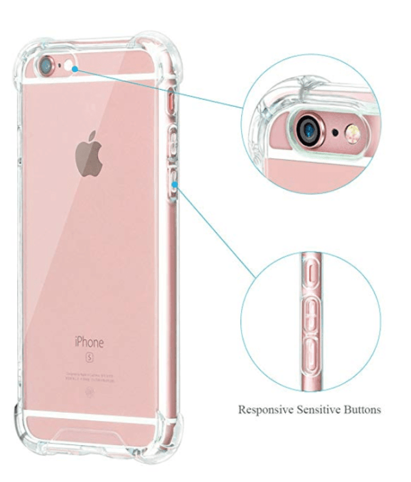 Shock Proof Clear Case