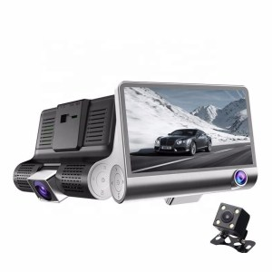 3 in 1 dash cam – 1080p HD Night Vision Dash camera Passenger – Reverse – Drive View