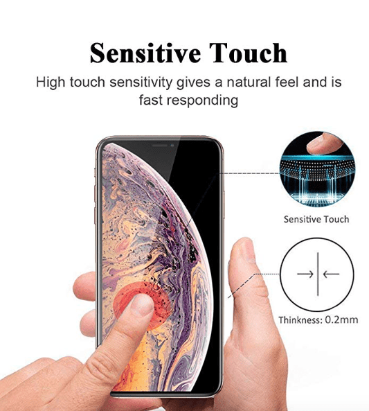 0.2mm 10d Tempered Glass For iPhone 7 | 8 plus