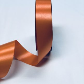 Orange Waterproof Satin Ribbon Narrow