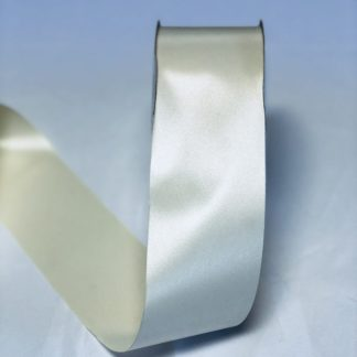 Ivory Waterproof Satin Ribbon