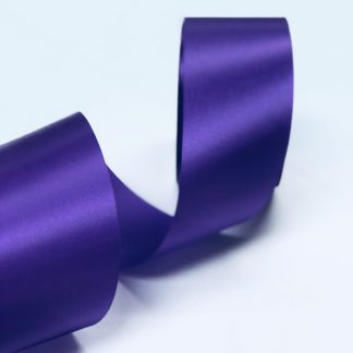 purple satin acetate ribbon