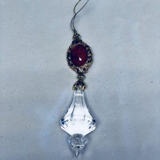 Red Jewel Ornament