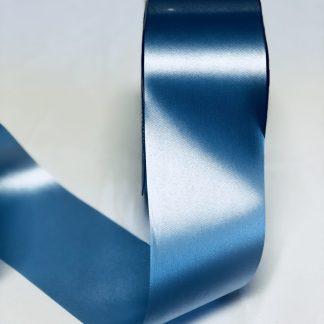Blue Waterproof Satin Ribbon