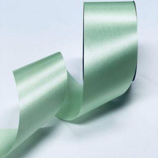 mint green satin acetate ribbon