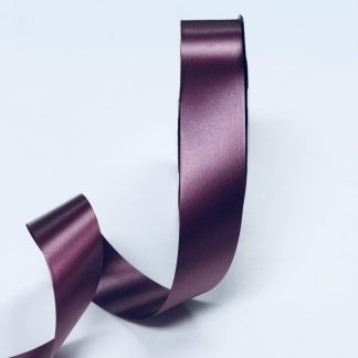 burgundy waterproof satin ribbon narrow