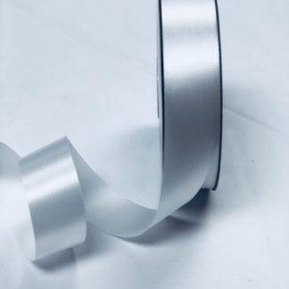white satin acetate ribbon