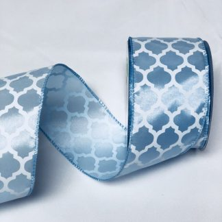 light blue satin ribbon