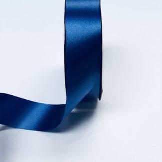 Navy Blue Waterproof Satin Ribbon Narrow