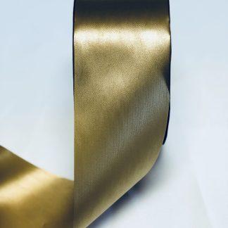 Holiday Gold Waterproof Satin Ribbon