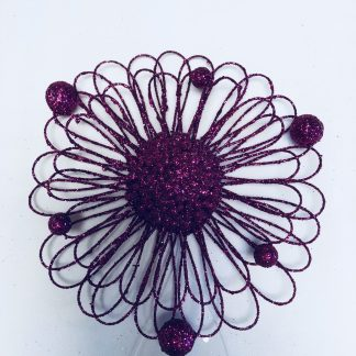 Wire Sunflower Ornament