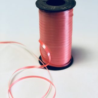 coral curling ribbon