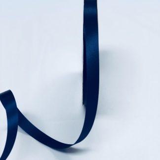 navy satin acetate corsage ribbon