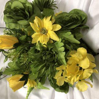 green and yellow mixed bush