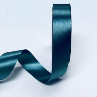 Hunter Green Waterproof Satin Ribbon Narrow