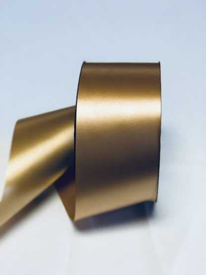 Gold Waterproof Satin Ribbon