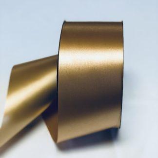 Gold Waterproof Satin Ribbon