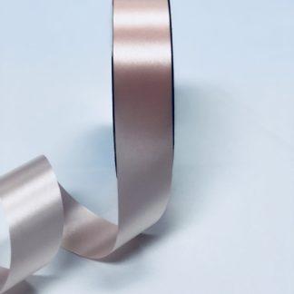 Peach Waterproof Satin Ribbon Narrow