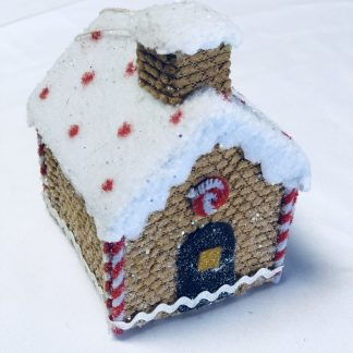 Gingerbread House Ornament Large