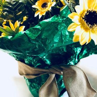 Flower pot foil paper