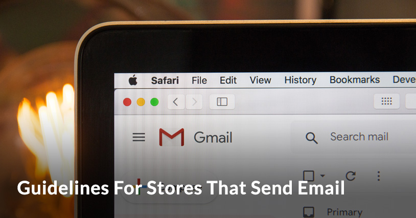 Guidelines for stores that send email