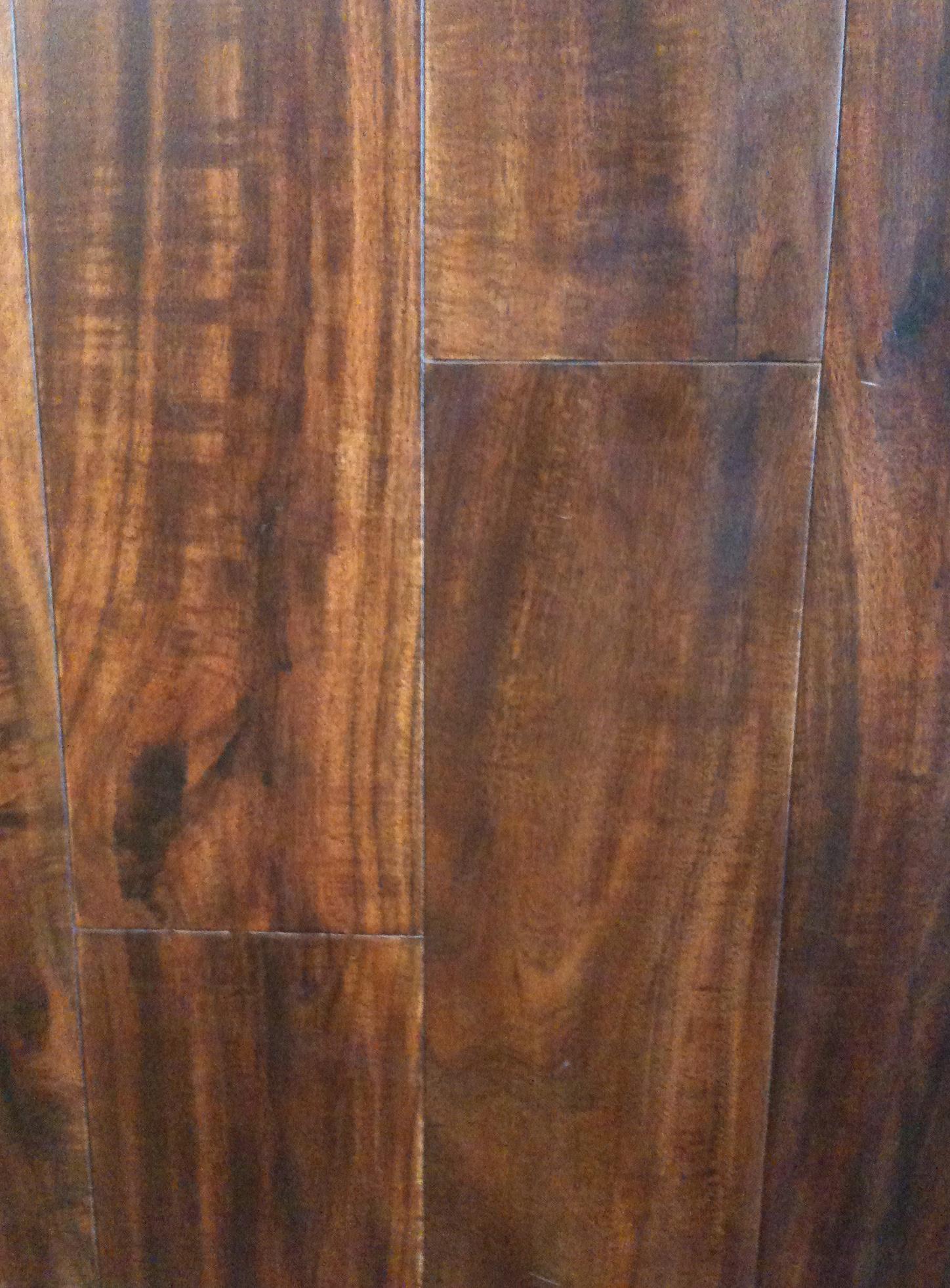Wholesale Wood floor Warehouse Hand Scraped hard wood