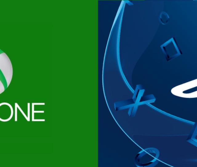 Xbox One Logo Ps Logo