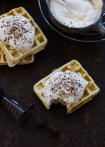 French Waffles with Cointreau Cream (1)