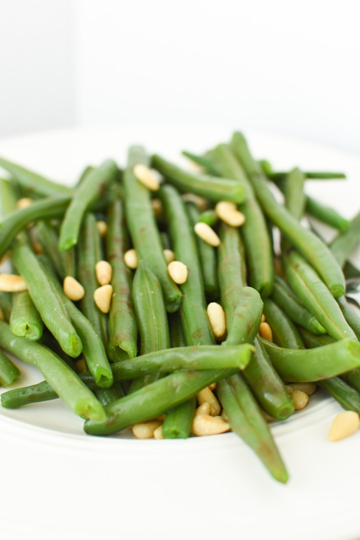 Buttery Green Beans & Pine Nuts
