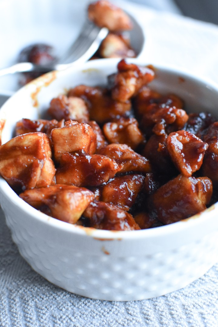 BBQ Chicken Bites [Whole30  Keto]