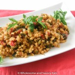 Spinach Tomato Barley One Pot Meal