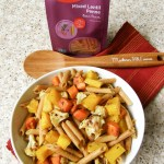Meatless Monday: Penne Pasta with Roasted Vegetables and Hubbard Squash
