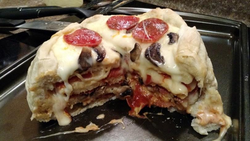 The Amazing Pizza Cake
